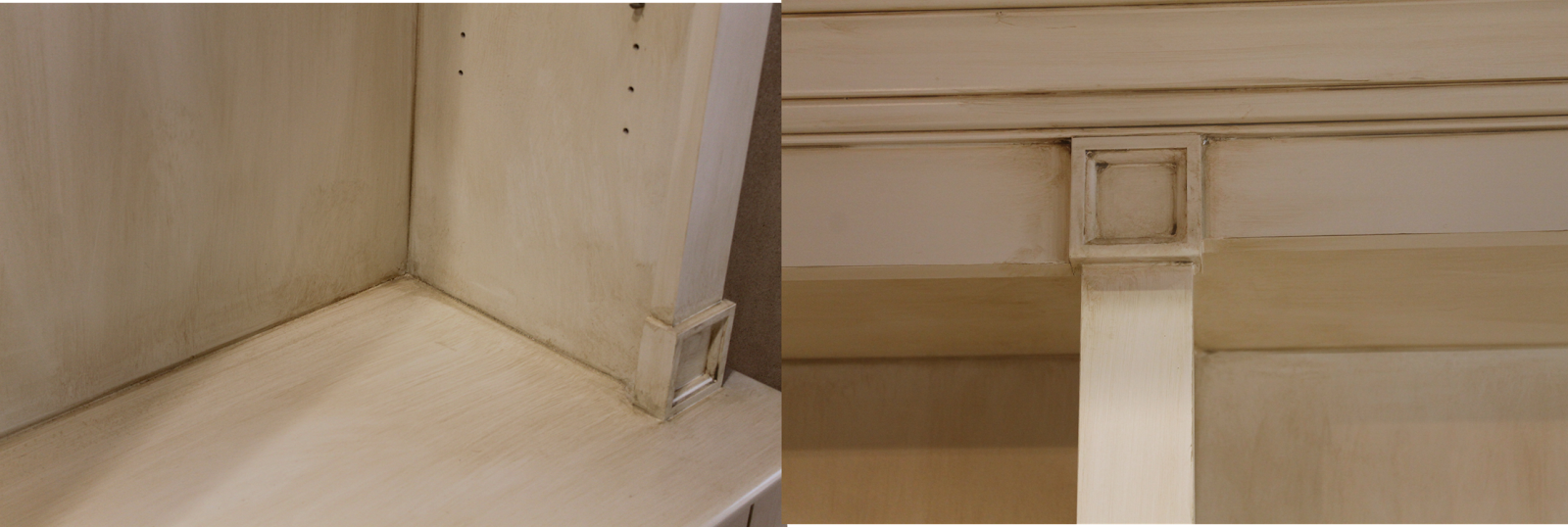 The ragged wren : How-To: Glazing Cabinets   Glazing ...
