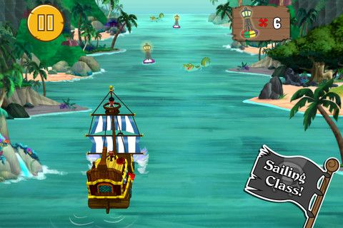 Jake's Never Land Pirate School App Review Toddler