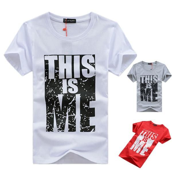"""Men's Swag """"This Is Me"""" Cotton T-Shirt"""