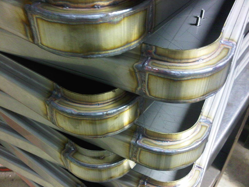 TiG welded stainless steel fabrications from Fareham