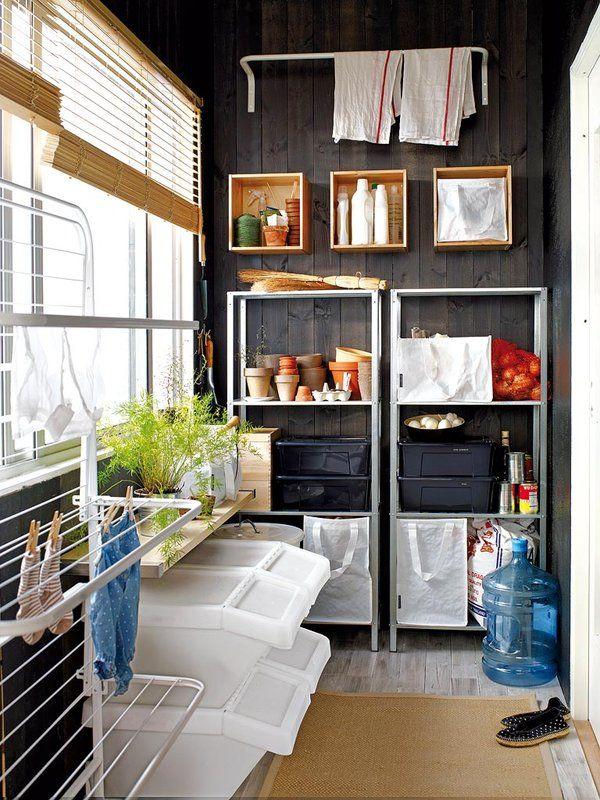 Ideas para organizar despensas trasteros y armarios la - Estanterias para trastero ...