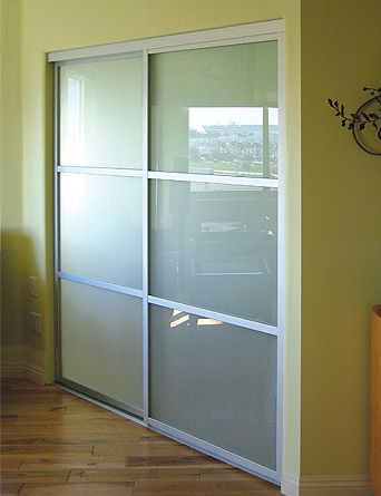 Charmant Bedroom Inspiration (frosted Glass, Sliding, Closet Doors)