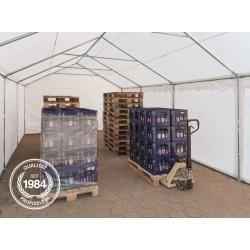 Photo of Lagerzelt 4x8m Pvc 500 g/m² weiß wasserdicht Unterstand, Lager Toolport