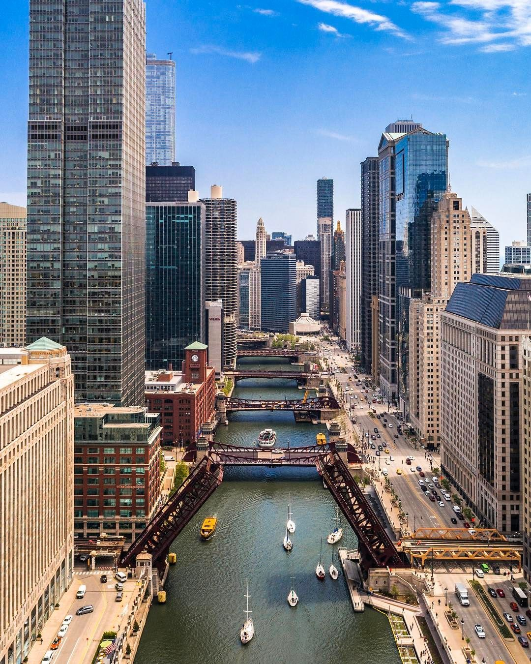 Chicago From Above: Drone Photography by Razvan Sera #inspiration #photography