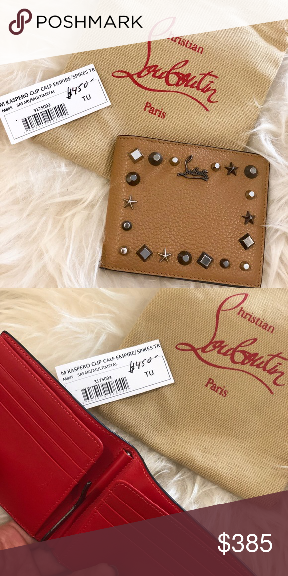 New Christian Louboutin Wallet New Unused Authentic