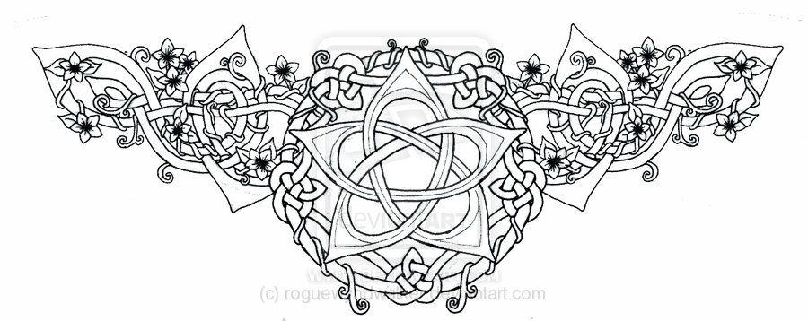pentacle tattoos   Celtic Lotus Pentacle Tattoo by ~roguewyndwalker on deviantART
