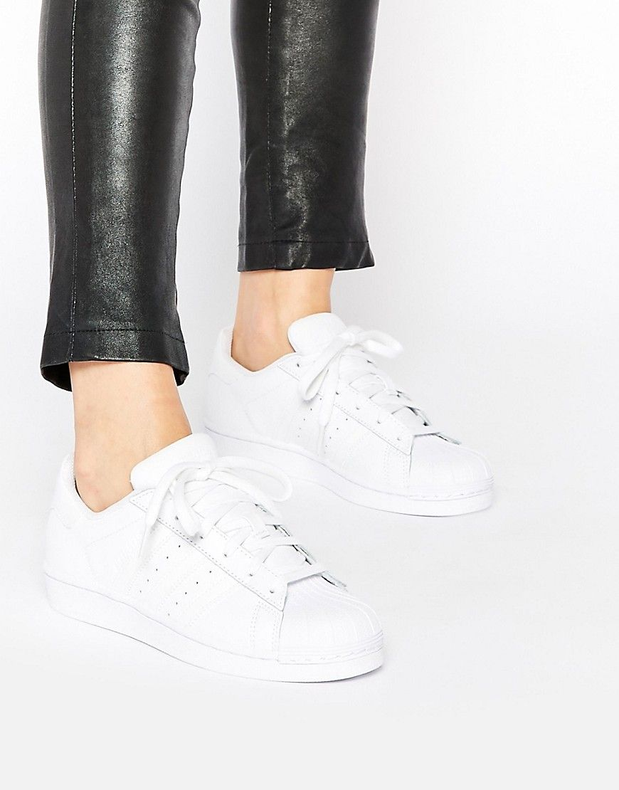 Vendita adidas Superstar Foundation Women White