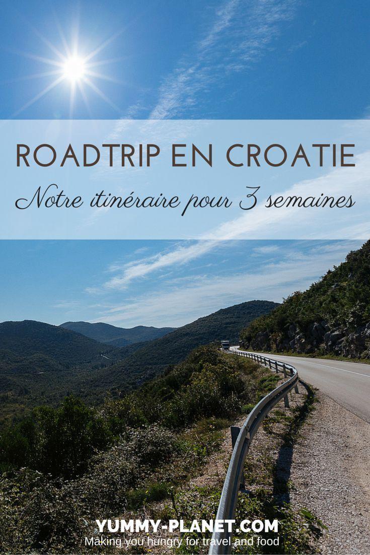 Croatie Notre Itineraire Pour Un Road Trip De 3 Semaines Croatie Croatie Voyage Road Trip Croatie Et Croatie