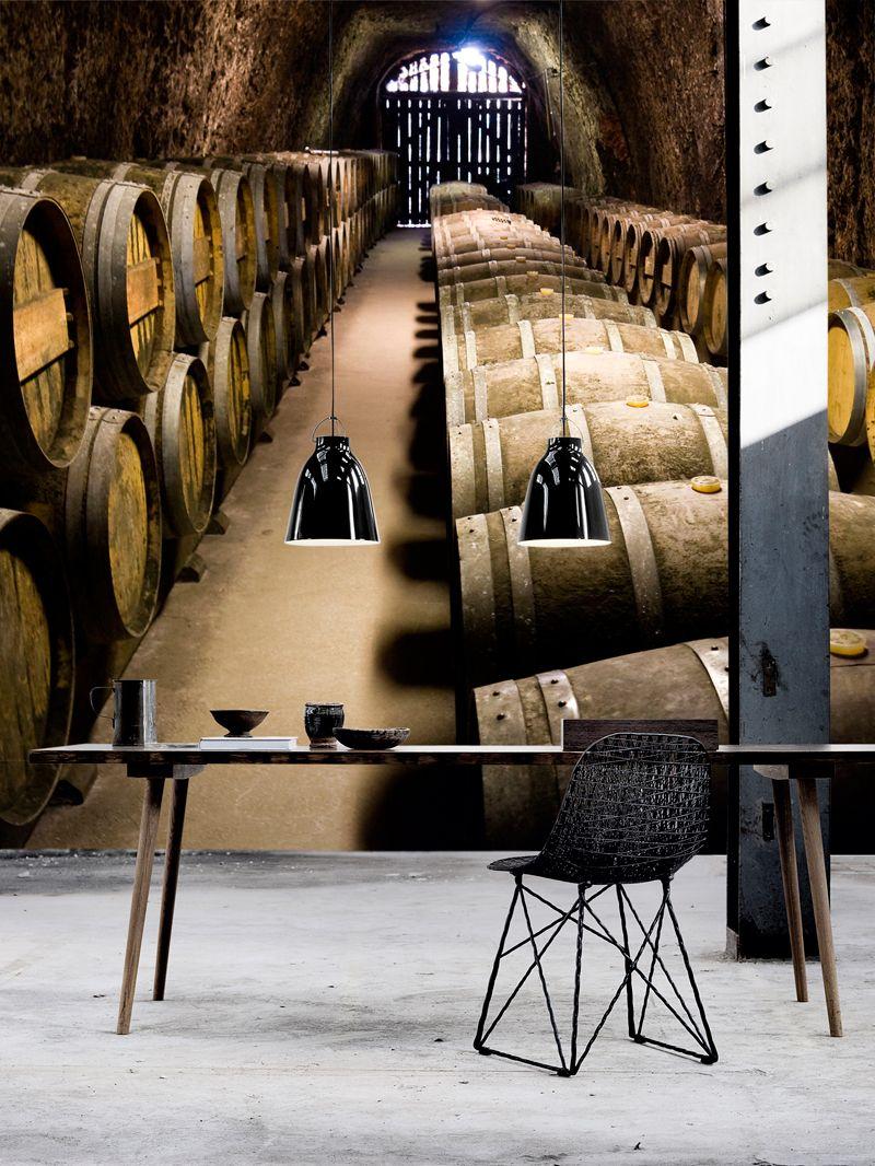 storage oak wine barrels. Barrels In Storage - Wall Mural, Wallpaper, Photowall, Home Decor, Fototapet, Oak Wine E