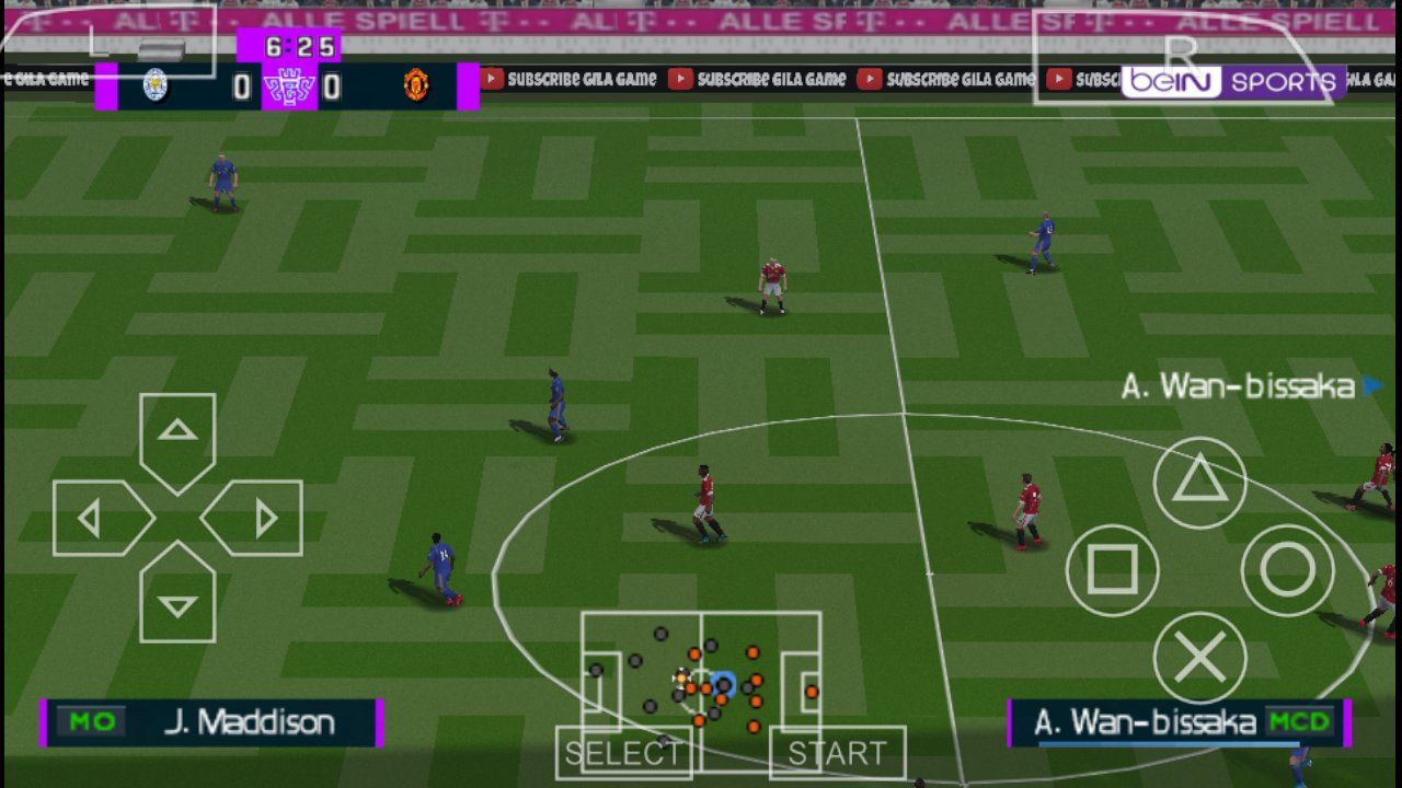 eFootball PES 2021 ISO File PSP Android (English Version