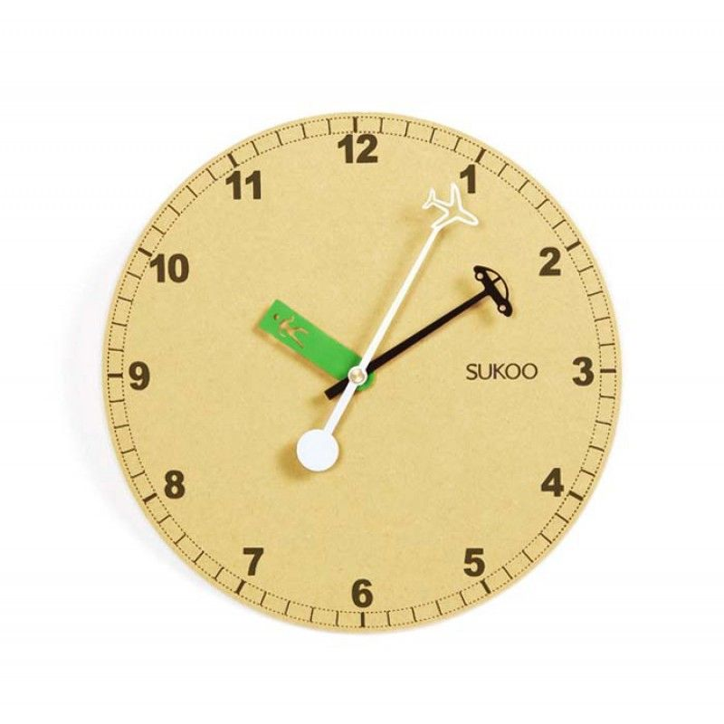 Original Wooden Wall Clock  - Day After Day