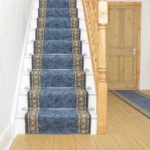 Rosalind Wheeler Innen-/Außenteppich Allenstown in Blau | Wayfair.de #stainedwood