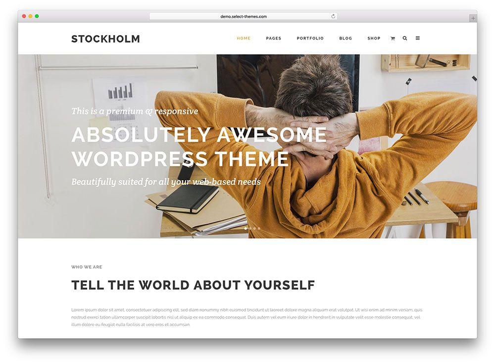 38 most popular customizable wordpress themes 2020
