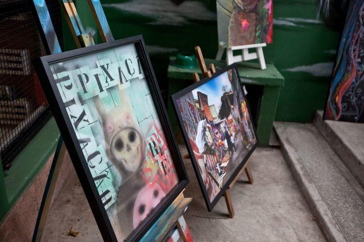 Exemplares de obras pop art são encontrados nas galerias e ateliês da Vila Madalena, em São Paulo