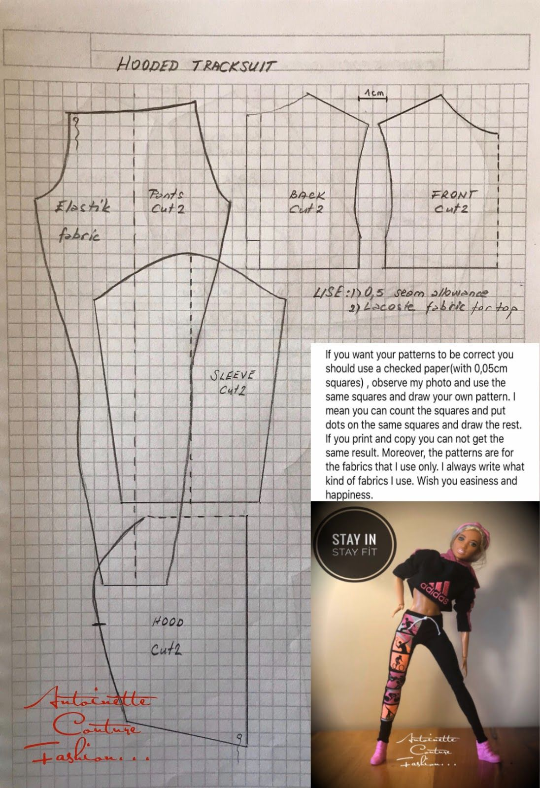 Fashion Dolls Couture - Unlimited: Sportswear-1 -Made to Move Barbie -