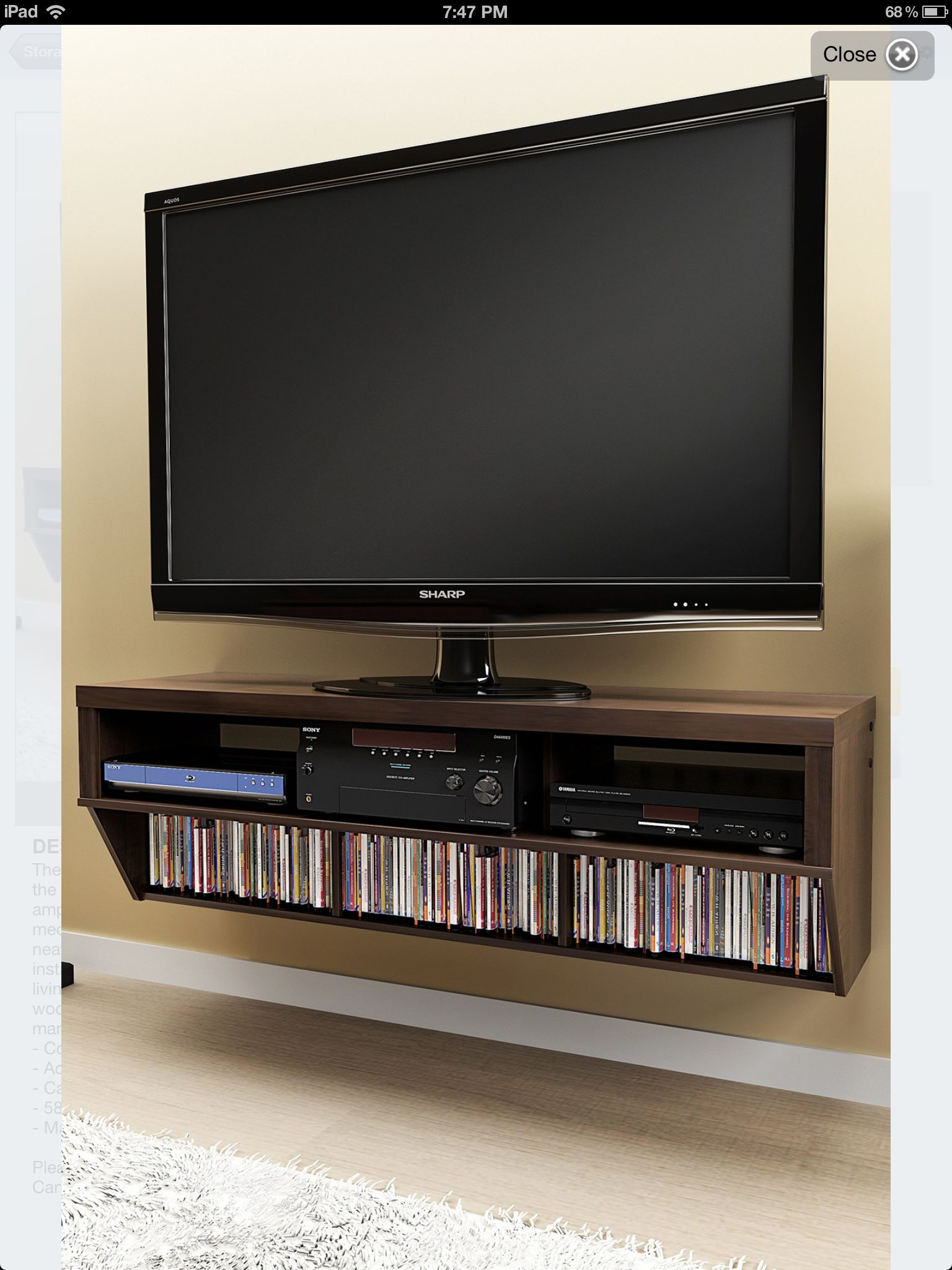 Modern Living Room Lcd Tv Stand Wooden Design Fa18b: #hometheater #projector Home Theatre, Surround Sound