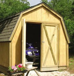 11 Free Do It Yourself Lawn Tractor Shed Plans