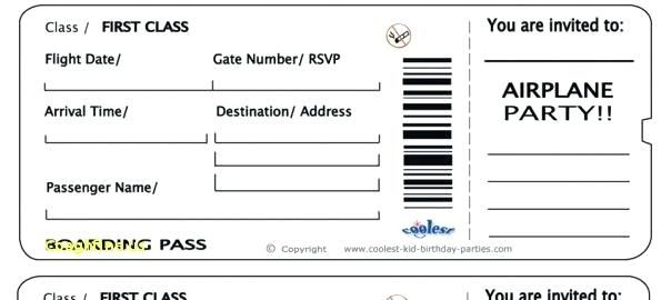 Fake Boarding Pass Boarding Pass Template Free 16 Real Fake