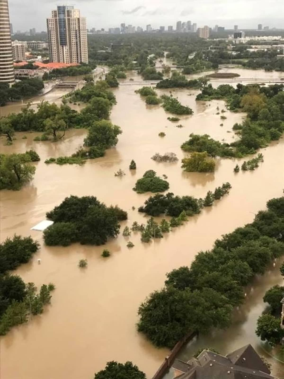 Houston Hurricane Harvey Flood Photos Allen Parkway Houston Flooding Photo Nature Photography