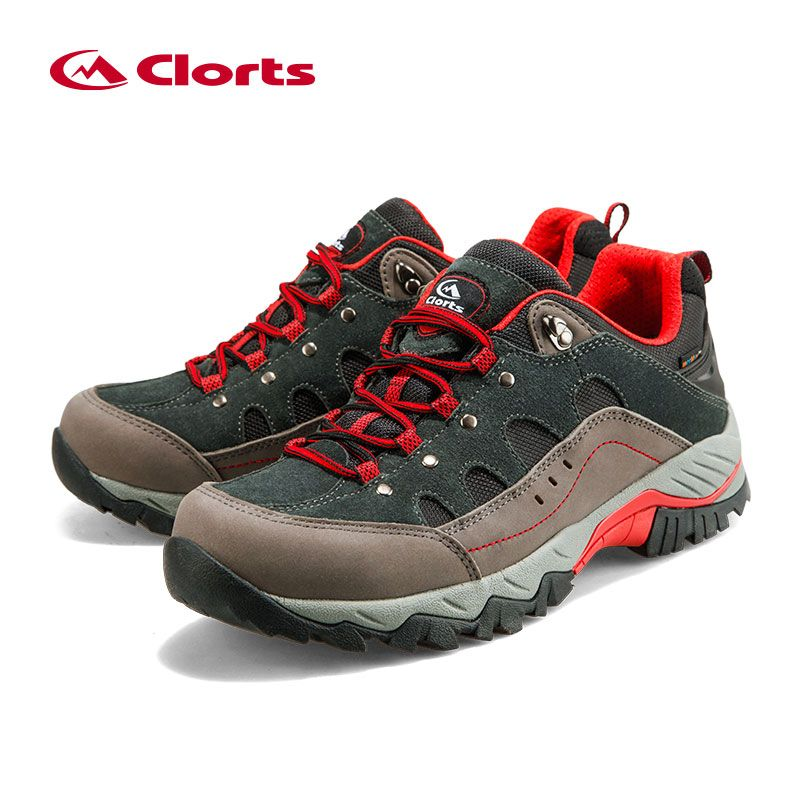 652d6b8355e Outdoor Hiking Boots Clorts Suede Leather Climbing Shoes Men ...