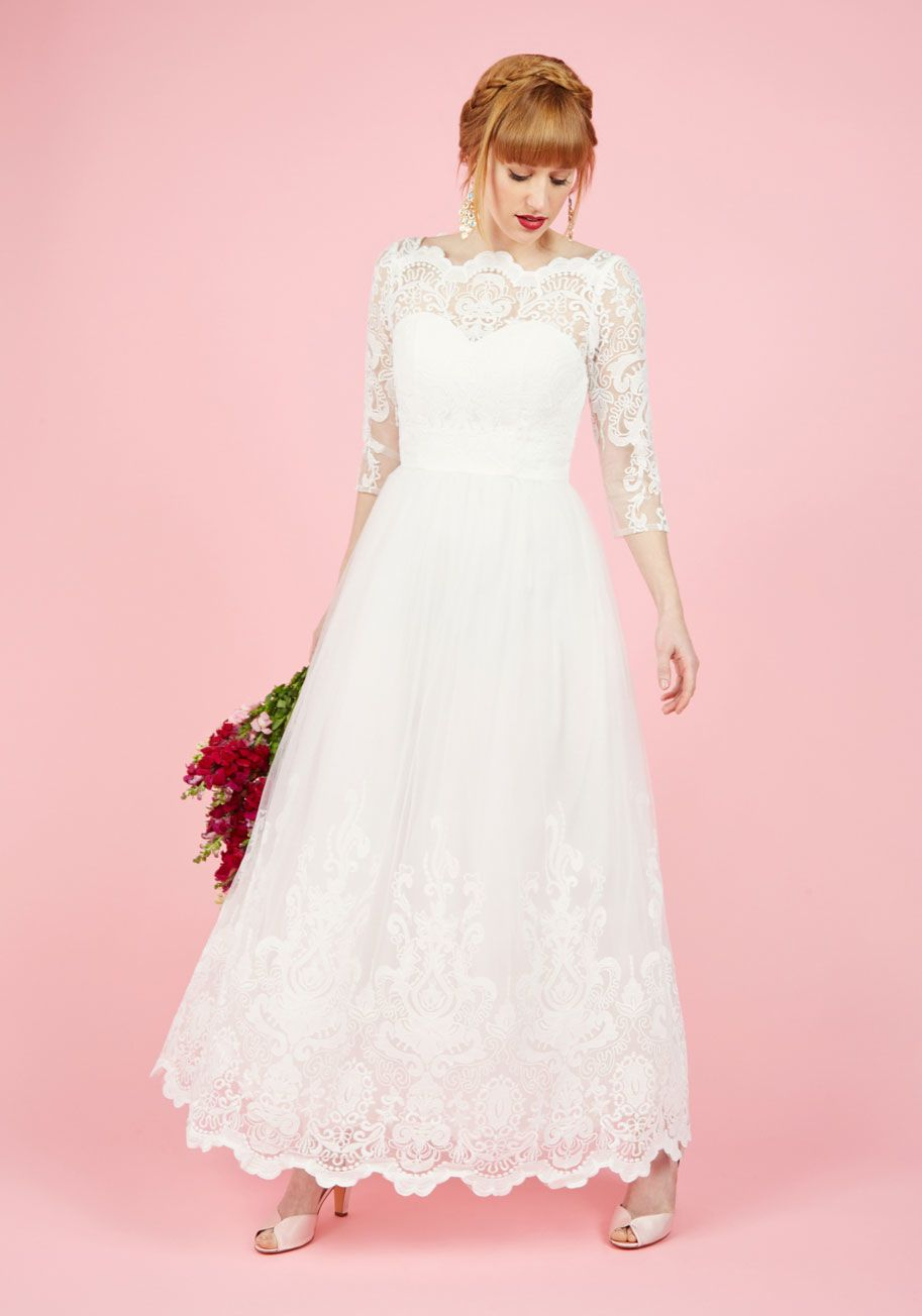 e72b53906 Chi Chi London Sophisticated Ceremony Maxi Dress in White in 2