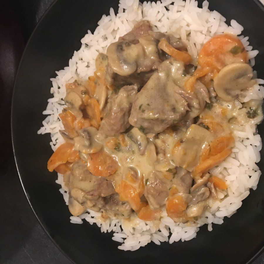 la blanquette de dinde aux poireaux et carottes est une recette