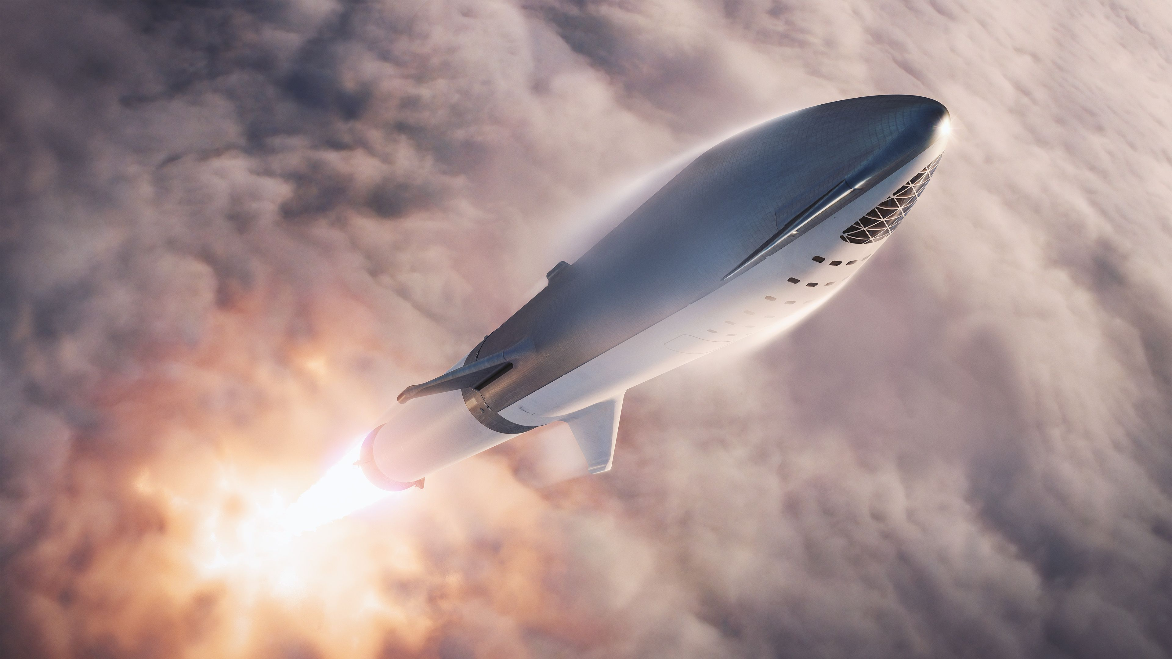 Space X Rocket 4k Spaceship Wallpapers Space X Wallpapers Rocket Wallpapers Hd Wallpapers 4k Wallpapers Spacex Spacex Starship Elon Musk