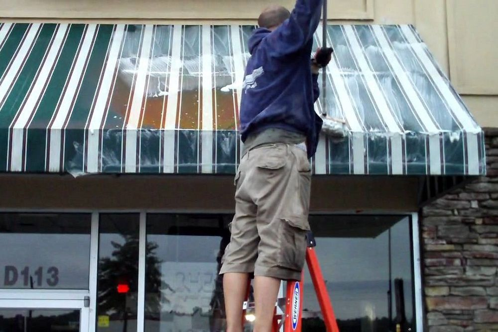 How To Clean And Maintain Canvas Awnings At Your Home Canvas Awnings Awning Cleaning