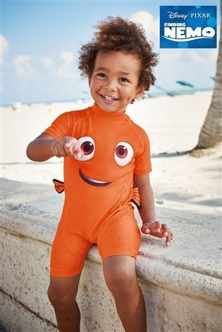 9106550772 Buy Orange Finding Nemo Sunsafe Suit (3mths-6yrs) from the Next UK online