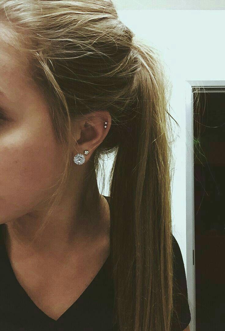 Double nose piercing each side  Pin by Rachel Niccum on Piercings  Pinterest  Piercings Piercing