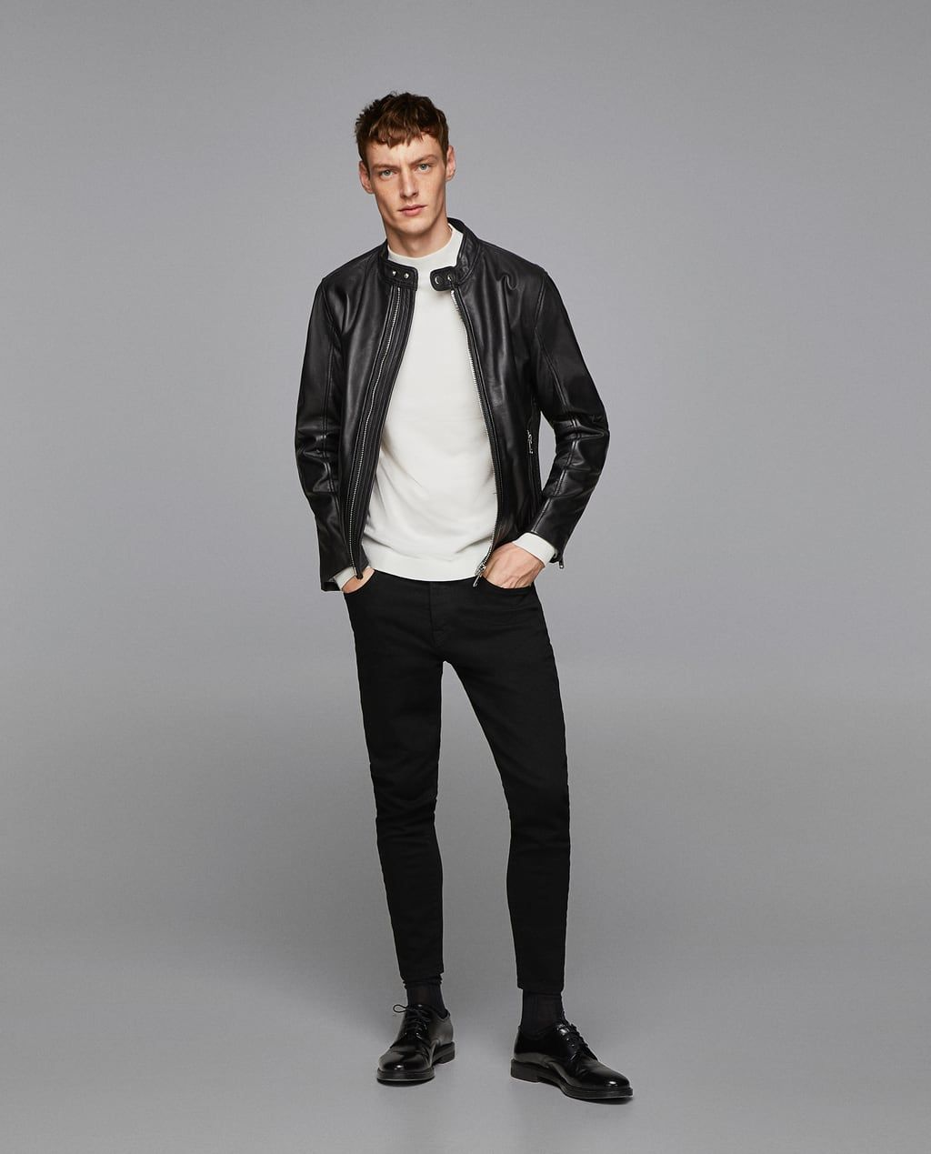862636dbd48ec PLAIN JACKET WITH CONTRASTING DETAILS-View all-JACKETS-MAN