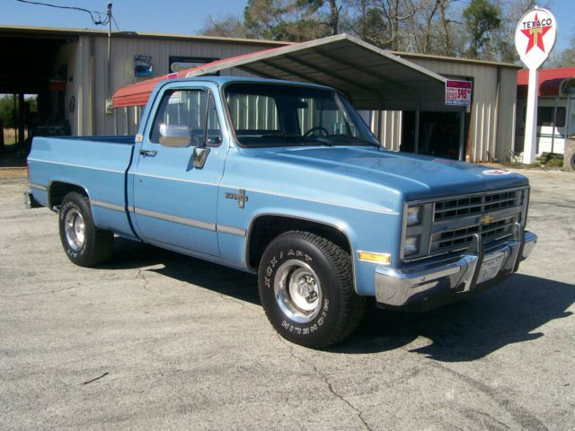 1985 Chevrolet Silverado C10 Immaculate Time Capsule Rust Free Very Original For Sale In New Caney Texas United Stat Chevrolet Silverado Chevrolet Silverado