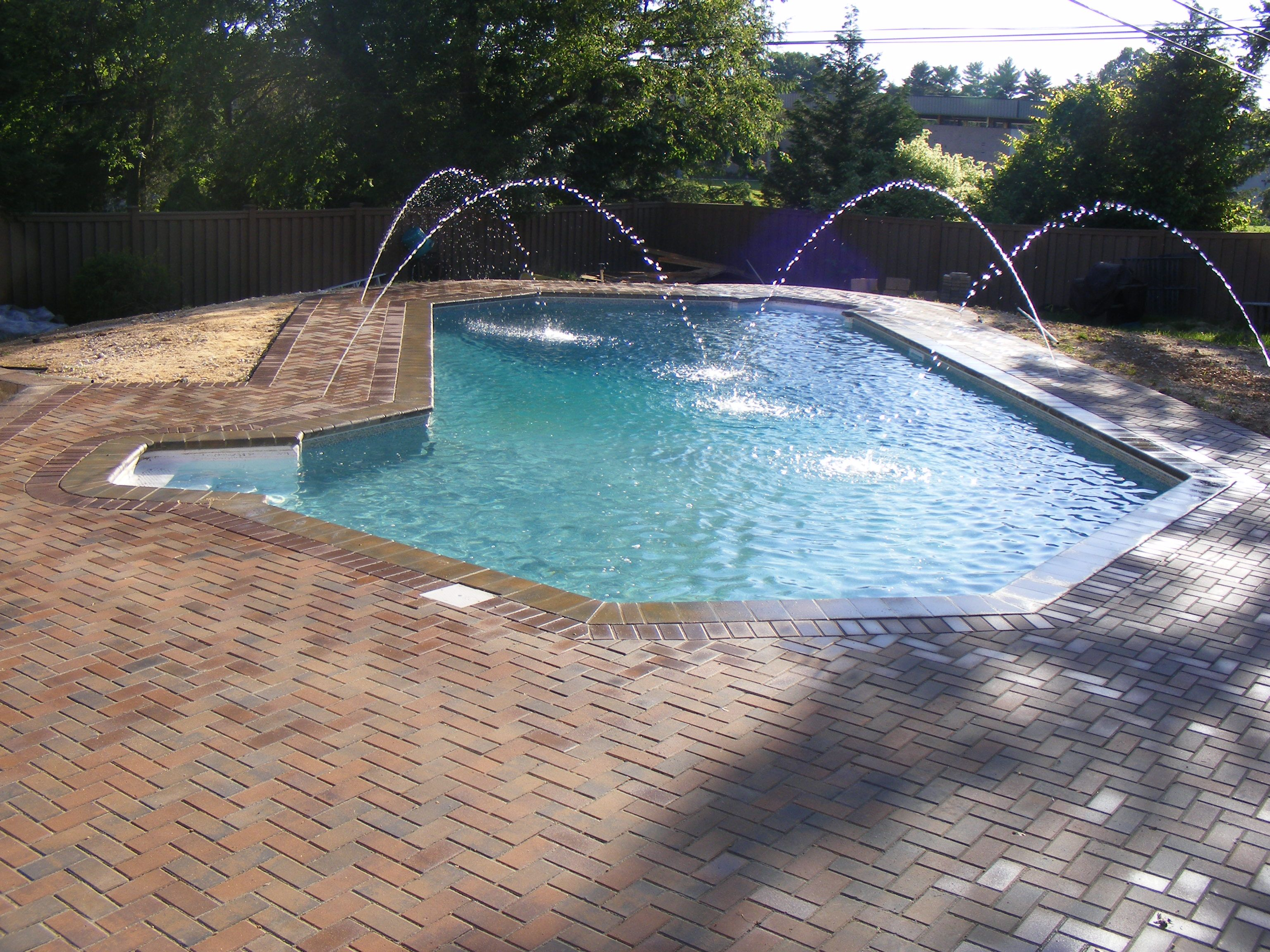 35 Year Old Vinyl Liner Pool We Remodeled Installed New