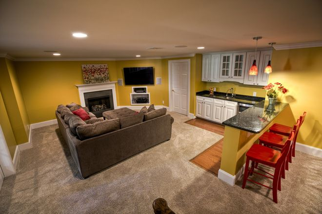 Traditional Basement By West Chester Design Build Llc So