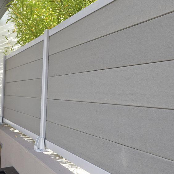 Lightweight Composite Fence Boards Sales Fencing Options Wpc Garten Haus Garten Ideen