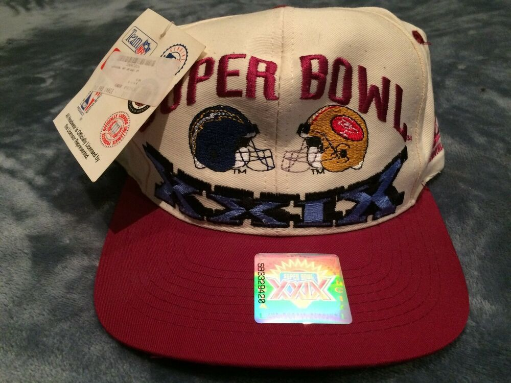 935b8e2957559 Old School Snapbacks Super Bowl XXIX 49ers gear old school San Diego  Chargers  fashion  clothing  shoes  accessories  mensaccessories  hats  (ebay link)