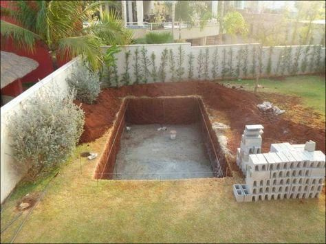 Cheap Way To Build Your Own Swimming Pool #Casa | Diy ...