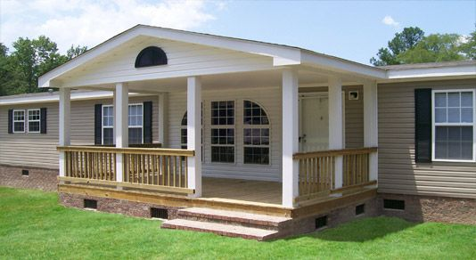 Manufactured homes the affordability factor read more - Front porch designs for modular homes ...