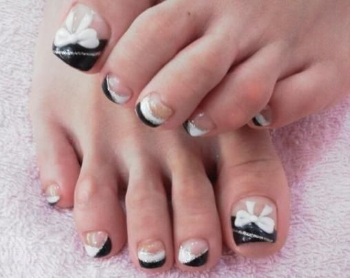 summer toe nail art designs 2012