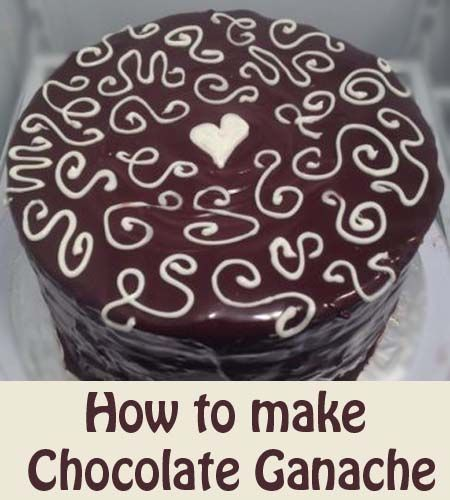 Can I Pour White Ganache Over A Cake Twice