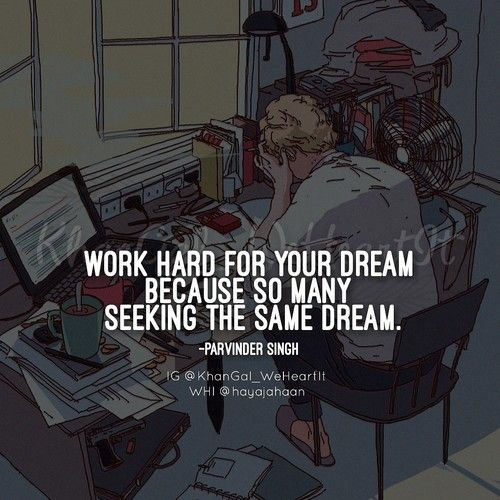 Work hard shared by KhanGal_WeHeartIt on We Heart It