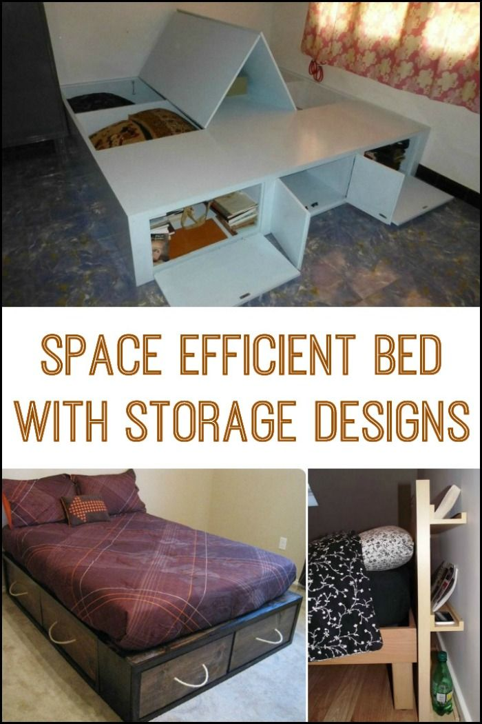 Need a bed design for adults or for the kids? We have good ideas to offer for both. Some of the storage solutions here provide ease of access, while some are for storing items you don't frequently need or use.