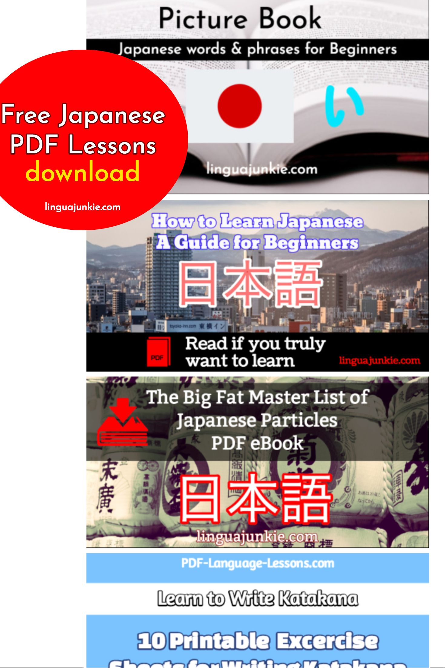 Pdf japanese language