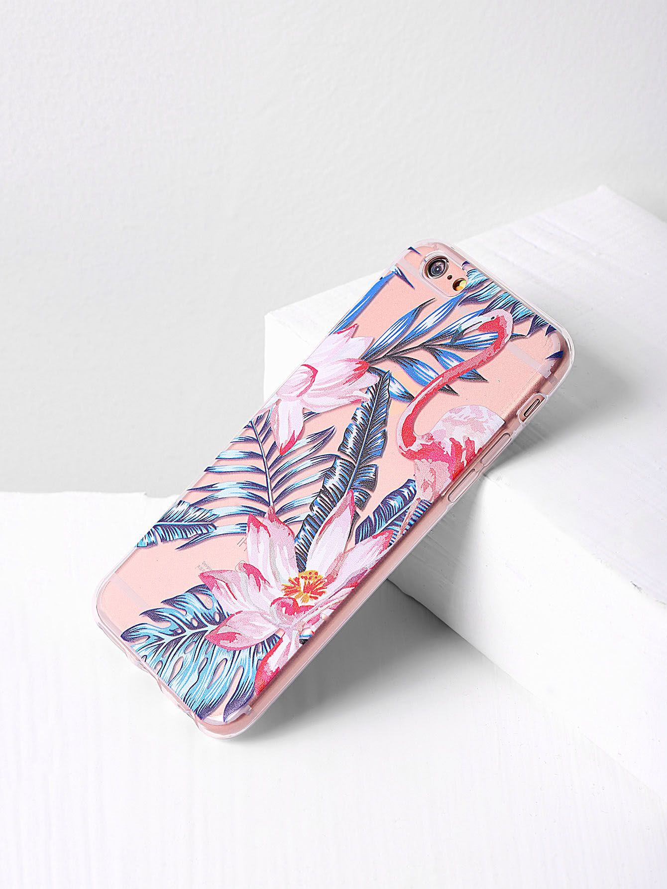 1272572046 Shop Leaf And Flower Print iPhone Case online. SheIn offers Leaf And Flower  Print iPhone Case & more to fit your fashionable needs.