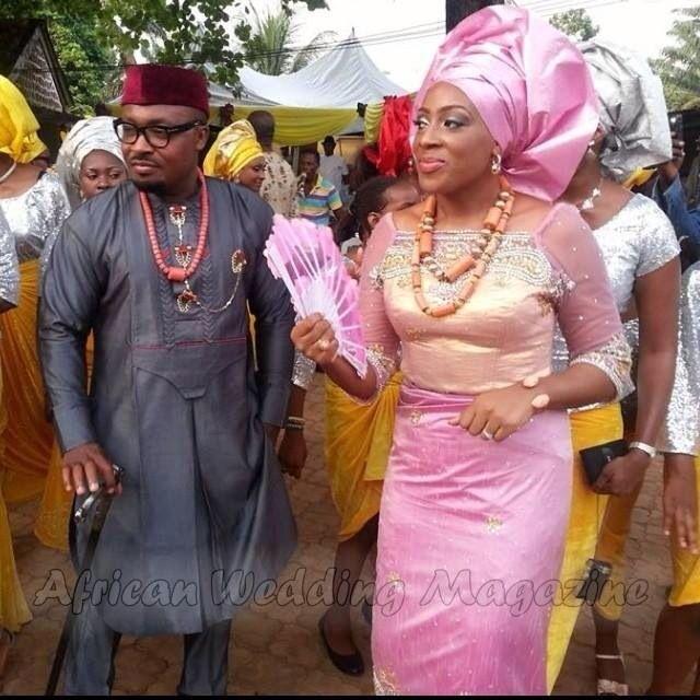 Igbo Wedding Couple#Nigeria | Cultured Wedding Inspirations | Pinterest