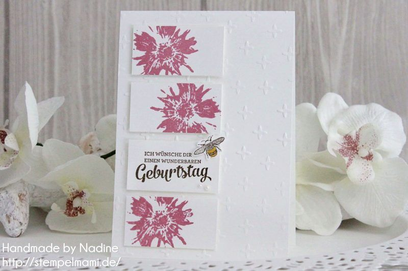 Stampin Up - Geburtstagskarte -Birthday Card - Grusskarte ...