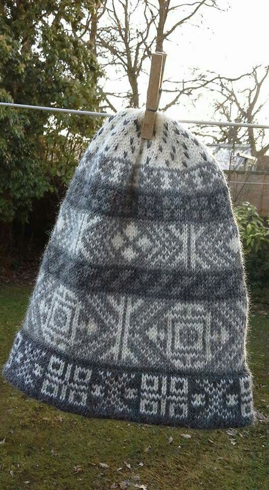 Fair Isle kep - greys | Knit - Head to neck! | Pinterest | Fair ...