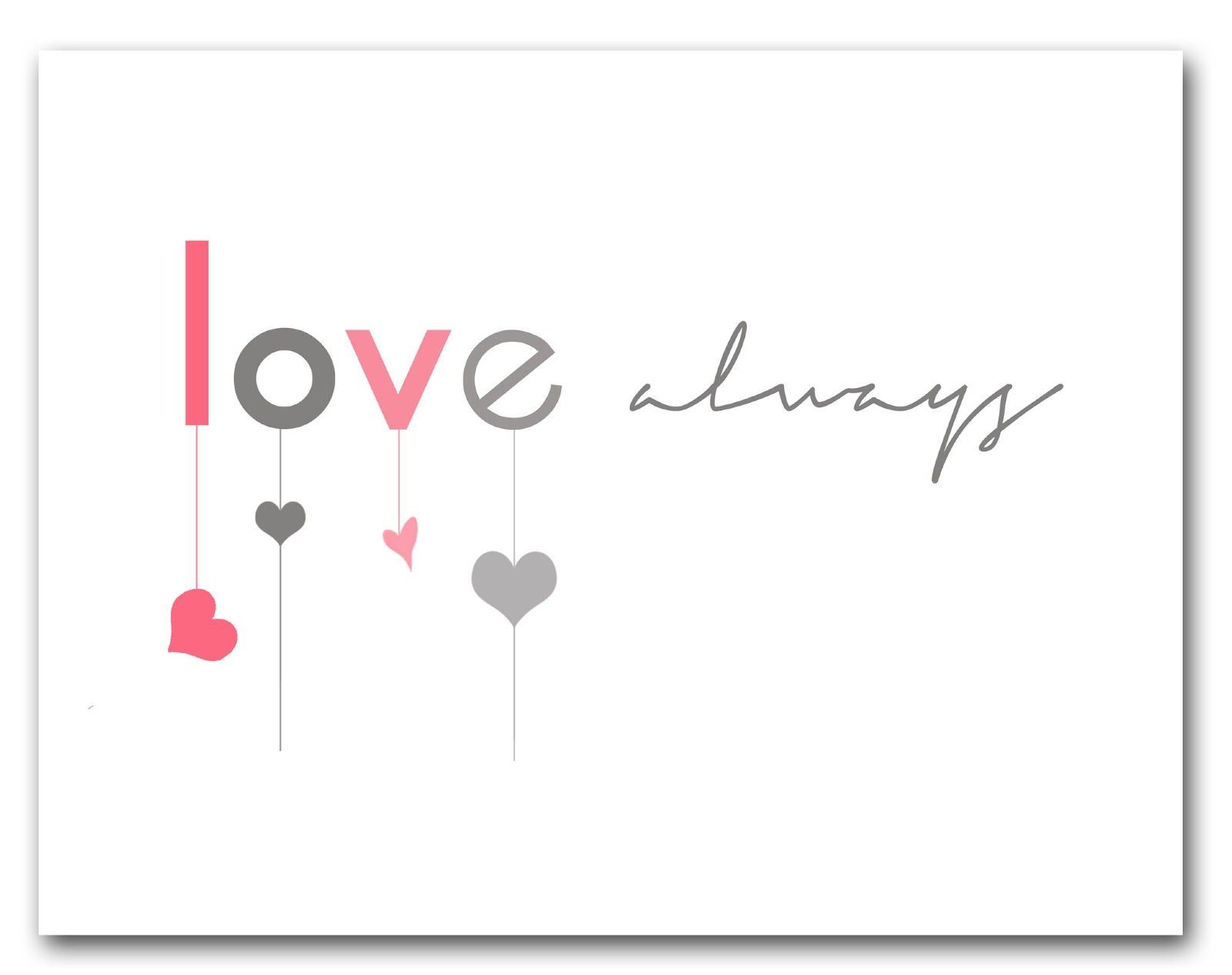 Free printable #valentine #love #print to download at bigredclifford.com