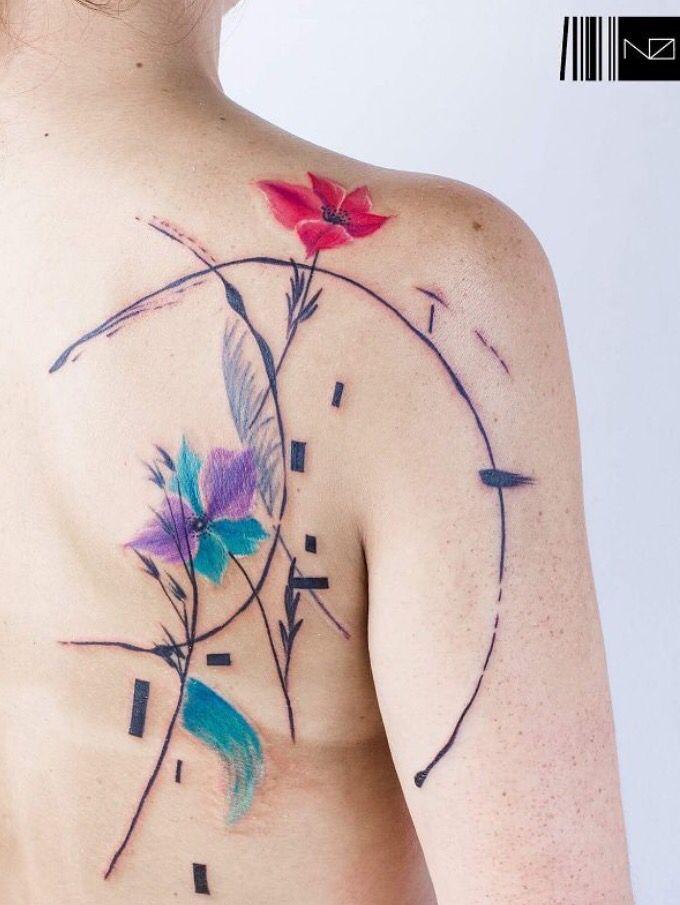 Small Jacaranda Tattoo: Mini Tattoos, Small Tattoos For Guys, Tattoos
