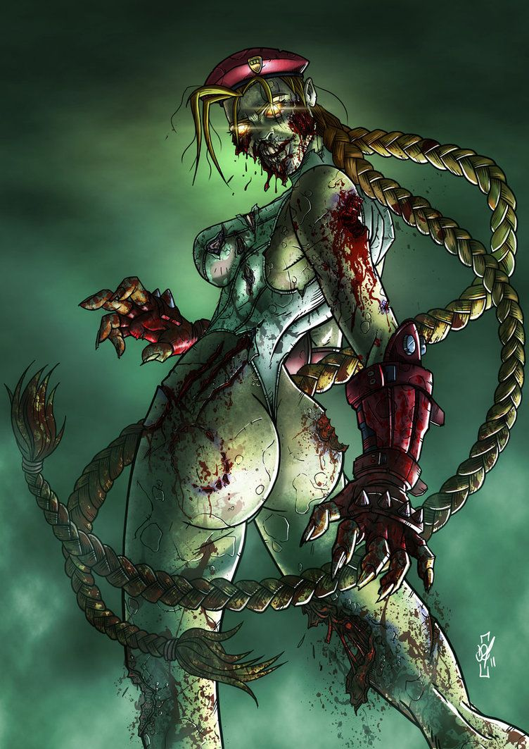 Attractive Zombie